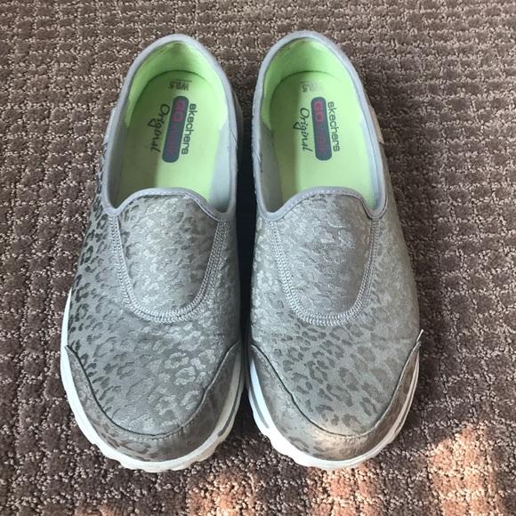 Skechers Shoes | Go Walks Leopard Print